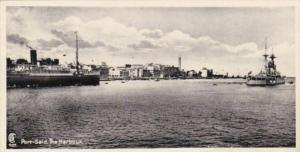 Egypt Port Said The Harbour Photo