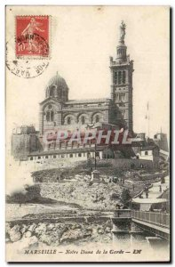 Marseille - Our Lady of the Guard - Old Postcard