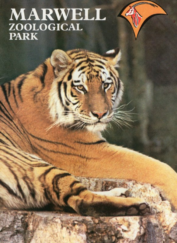 Marwell Zoological Park Zoo Hampshire Brochure Guide Map Book
