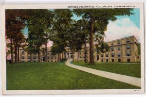 Vorhees Quadrangle, Coe College, Cedar Rapids IA