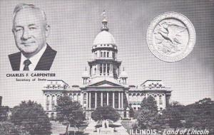 Charles F Carpentier Secretary Of State Illinois Land Of Lincoln Springfield ...