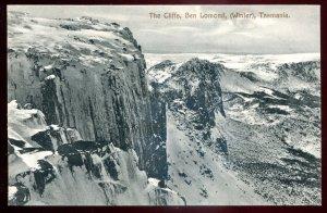 dc1090 - AUSTRALIA Ben Lomond Postcard 1910s Cliffs by Spurling