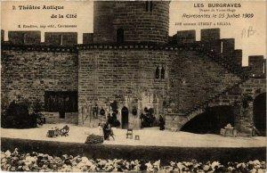 CPA Cite de Carcassonne Theatre Antique - Les Burgraves (618279)