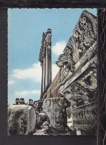 Lion's Head,Six Columns,Baalbeck,Lebanon Postcard BIN