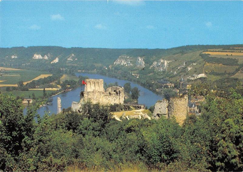 BT10580 les andelys le chateau gaillard et la seine France / HipPostcard