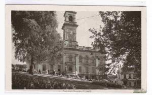 Town Hall The Octagon Dunedin Otago 1940s RPPC Real Photo postcard