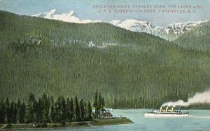 Canada - British Columbia, Vancouver. Brockton Point, Stanley Park, CPR Expre...