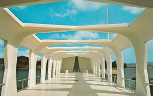 U.S.S. ARIZONA Memorial , Hawaii , 50-60s ; Pearl Harbor # 2