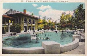 Wading Pool, O'Fallon Park, St. Louis, Missouri, 00-10s