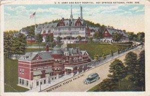 Arkansas Hot Springs NAtional Park U S Army And Navy Hospital1926