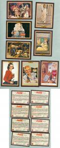 USA. 8 Card 1994  The Coca Cola Collection Series 3