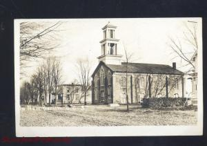 RPPC SOUTH NEW BERLIN NEW YORK CHURCH STREET REAL PHOTO