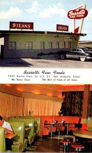 Texas San Antonio Bassetts Fine Foods Restaurant