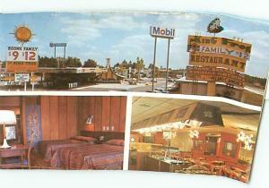 Old Vintage Postcards King Frog Restaurant GA # 1605A