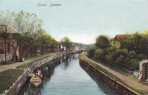 Boat, Trosa, Sweden, 1900-1910s