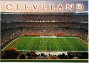 Cleveland Browns Stadium Postcard #2