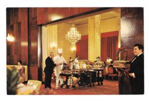Clift Hotel Restaurant Beef Cart San Francisco CA Postcard