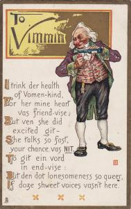 To VIMMIN , Poem , 1910 ; TUCK