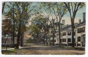 Bangor, Maine, High Street