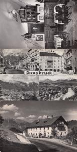 Innsbruck Hotel Gold Dining Room Restaurant Real Photo 3x Postcard
