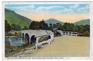 Mohawk Trail, Mass, Bridge Over Deerfield River, Near Charlemont