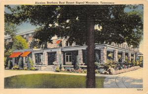 Signal Mountain Tennessee~Alexian Brothers Rest Resort~Men's Physio-Therapy~'40s