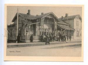 205145 RUSSIA ROSCHINO RAIVOLA station Finnish reissue