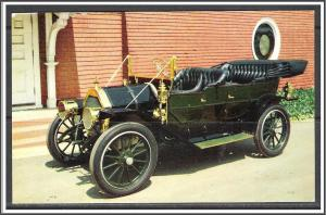 Antique Car 1910 Russell Knight Advertising