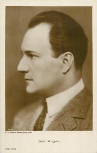 Postcard Cinema Film Star Actor Jean Angelo