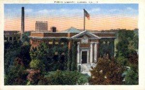 Public Library - Aurora, Illinois IL