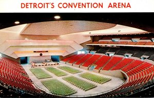 Michigan Detroit Convention Arena