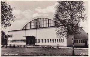 Vaxjo Idrottshallen Sweden Swedish Sports Centre WW2 Postcard