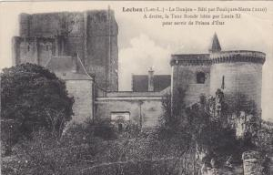 Le Donjon- Bati Par Foulques-Nerra, A Droite, La Tour Ronde Batie Par Louis, ...