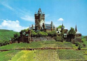 Burg Cochem an der Mosel Castle General view Chateau Panorama