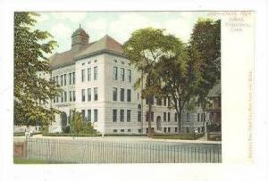 Crosby High School, Waterbury, Connecticut, PRE-1907