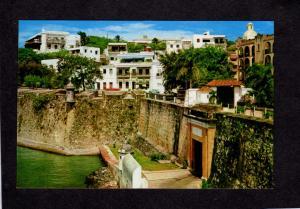 PR San Juan Gate Entrance for ships Harbor Puerto Rico Postcard