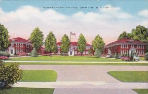 Queens Chicora College Charlotte North Carolina