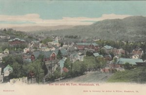 WOODSTOCK , Vermont , 1901-07 ; The Inn and Mt. Tom