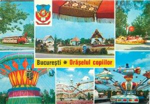 Romania souvenir Postkarte Bucuresti Oraselul Copiilor
