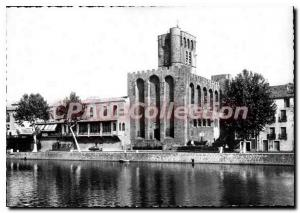 Postcard Modern Agde Cathedral