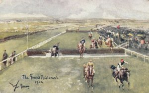 AS: Horse Racing ; Steeplechase , The Grand National , 1904