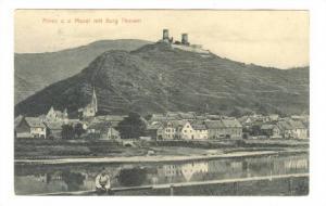 Alken a. d. Mosel mit Burg Thurant, Mayen, Rhineland-Palatinate, Germany, PU-...