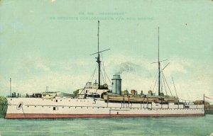Hr MS Heemskerk de grootste oorlogsbodem Nederlandse Marine Battleship 06.34