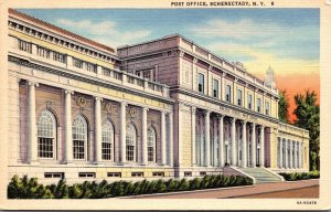 New York Schenectady Post Office Curteich