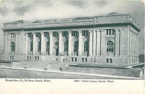 D/B Public Library Seattle Washington WA