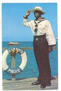 THE HARBOUR POLICE, BRIDGETOWN, BARBADOS, B.W.I., 40-60´S