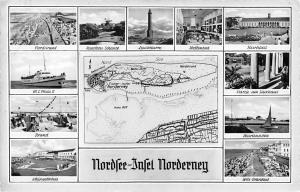 Nordsee Insel Norderney, Leuchtturm Kurhaus West Strandbad Kleingolfplatz