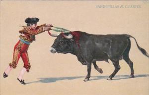 Corrida Bull Fight Banderillas Al Cuartes