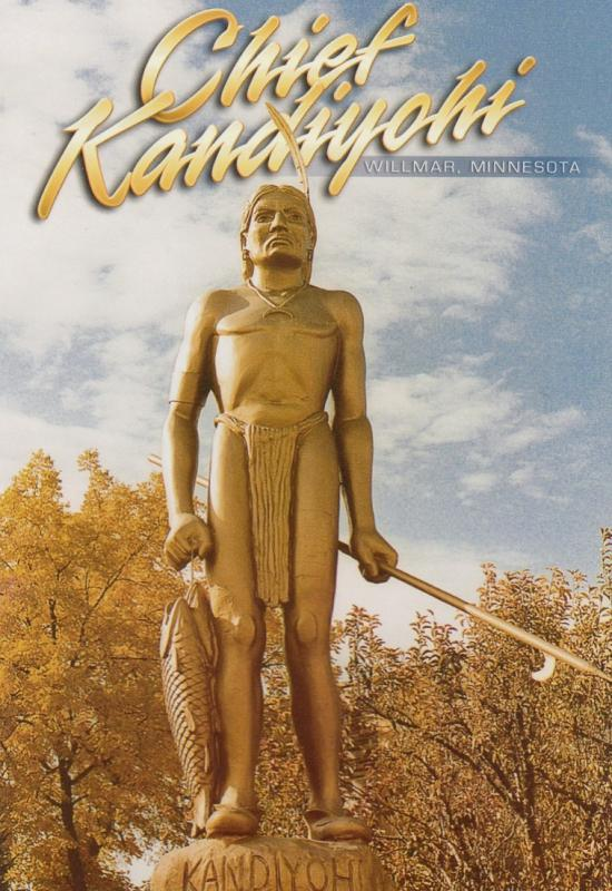 Chief Kandoyohi Statue , WILLMAR , Minnesota , 60-80s
