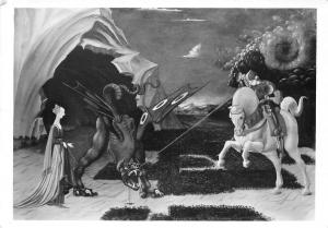 National Gallery London, Paolo Uccello St. George and the Dragon